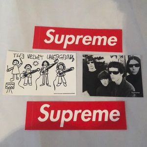Supreme Stickers Set of Four